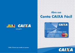 Cartilha CAIXA Fácil