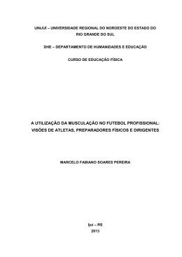 marcelo pereira tcc - Biblioteca Digital da UNIJUÍ