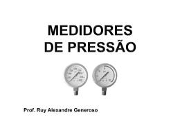 Pressão - Prof. Ruy