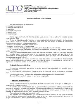 Contrato Administrativo e Serviço Público Prof.: Fernanda Marinela
