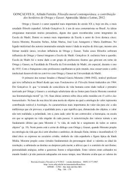 GONÇALVES Jr., Arlindo Ferreira. Filosofia moral