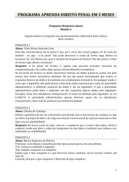 PROGRAMA APRENDA DIREITO PENAL EM 3 MESES