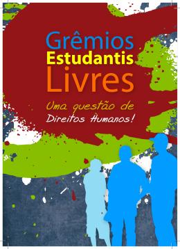 Fascículo sobre Grêmios Estudantis Livres