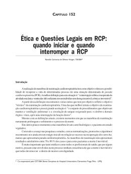 Ética e questões legais em RCP