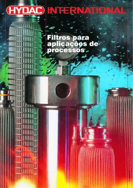 Filtros para aplicações de processos