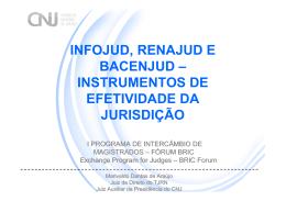 INFOJUD - RENAJUD - Supremo Tribunal Federal