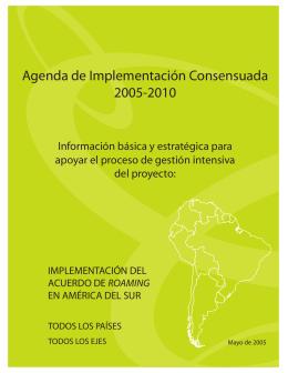 31 Acuerdo de Roaming suramericano