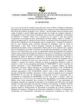 ATA Consulta Pública em 28.09.13