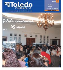 Toledo comemora Toledo comemora Toledo