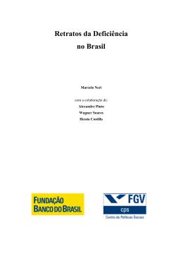 Retratos da Deficiência no Brasil
