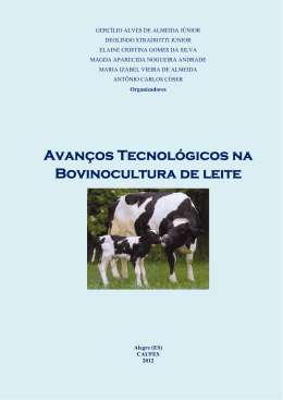 Livro Bovinocultura de Leite em recurso eletrônico