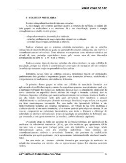 Colóides Micelares - Francisco Guerreiro Martinho