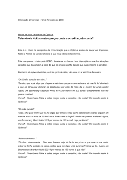 Press Release - Nova Oferta Optimus _12.02.2003_