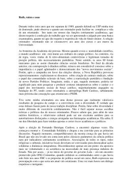Regina Novaes - IFCS/UFRJ