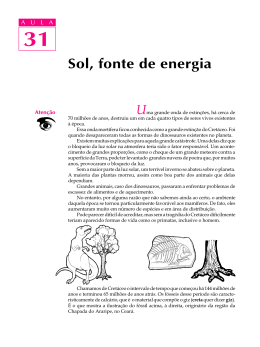 31. Sol, fonte de energia