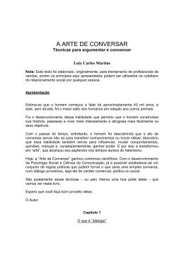 Luiz Carlos Martins A Arte de Conversar (1)