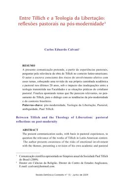 Versão de Impressão - Universidade Metodista de São Paulo