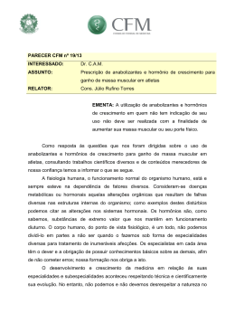 PARECER CFM nº 19/13