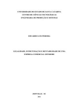 Legalidade, estruturação e rentabilidade de uma empresa