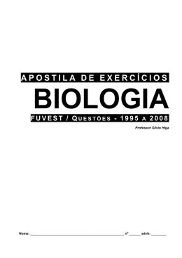 Exercicios de Biologia