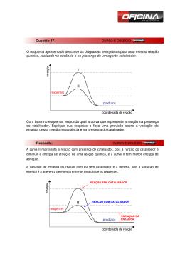 O esquema apresentado descreve os diagramas