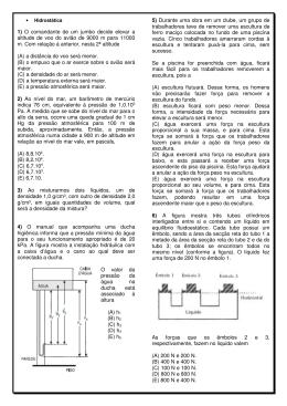 1º ano EF07 Hidrostática