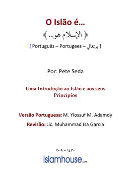 O Islão é… - Liga da Juventude Islâmica do Brasil