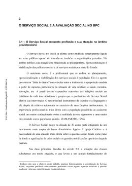 3 o serviço social e a avaliação social no bpc