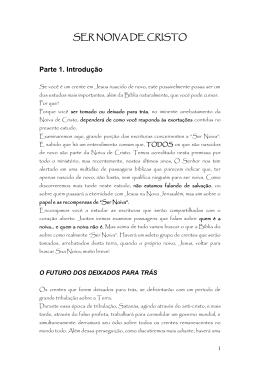 SER NOIVA DE CRISTO - Ministério Atos de Justiça