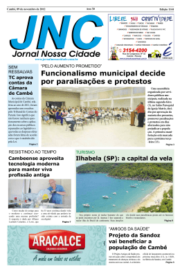 Jornal Nossa Cidade
