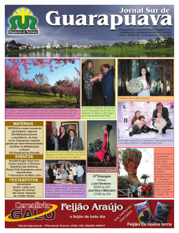 Jornal 132 - Jornal Sur Guarapuava