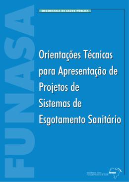 Orientações Técnicas para Apresentação de Projetos de Sistemas