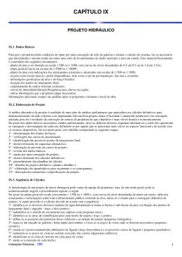 Projeto hidráulico - drb