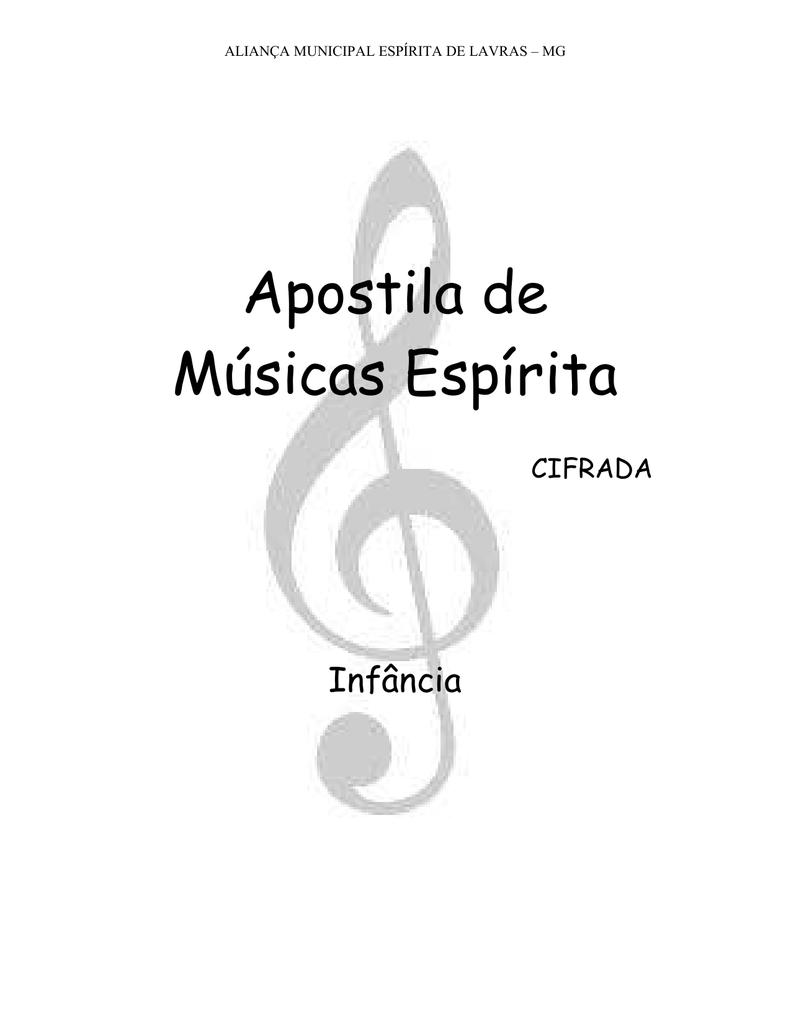 Músicas para Infância (cifrada)