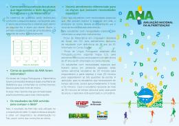 ANA - Avaliação Nacional da Alfabetização