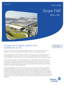 Grupo FIAT - Johnson Controls Inc.