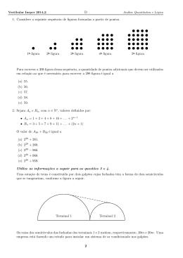 Testes – 1 a 35