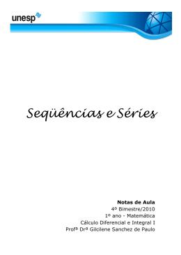 Seqüências e Séries