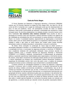 Carta Política de Porto-Alegre