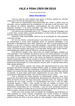 VALE A PENA CRER EM DEUS - Biblioteca Virtual Espírita