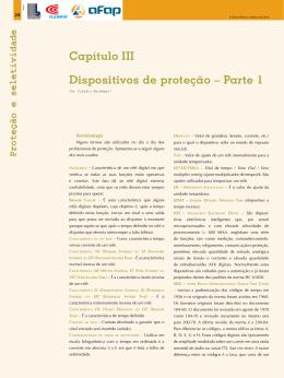 Capítulo III Dispositivos de proteção