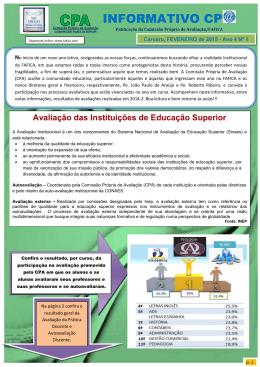 Informativo 01/2015