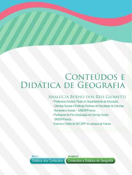 Conteúdos e Didática de Geografia