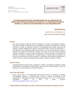 Texto completo PDF - Observare - Universidade Autónoma de Lisboa