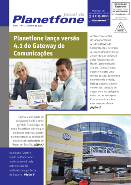Planetfone lança versão 4.1 do Gateway de Comunicações