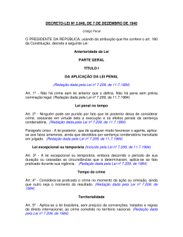 DECRETO-LEI Nº 2.848, DE 7 DE DEZEMBRO