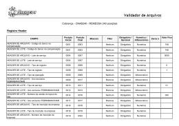 Cobrança - CNAB240 - REMESSA 240 posições
