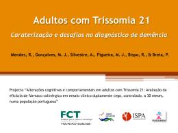 Demência na População Adulta com Trissomia 21