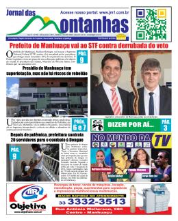 28 de janeiro de 2014 - JM1 Jornal das Montanhas Manhuaçu MG