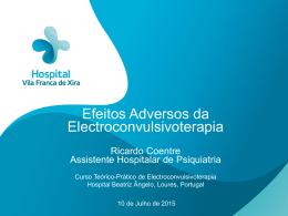 Efeitos Adversos da Electroconvulsivoterapia